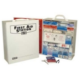 Industrial 3 Shelf First Aid Station